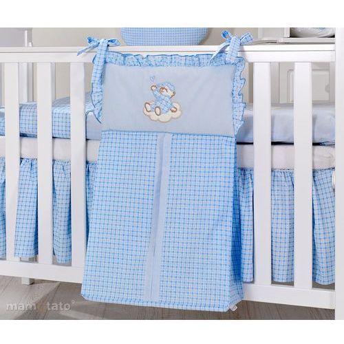 torba na pampersy śpioch na chmurce w błękicie marki Mamo-tato