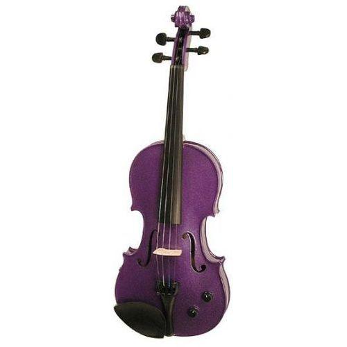 1515dpa skrzypce elektryczne 4/4 harlequin, zestaw, liliowy marki Stentor