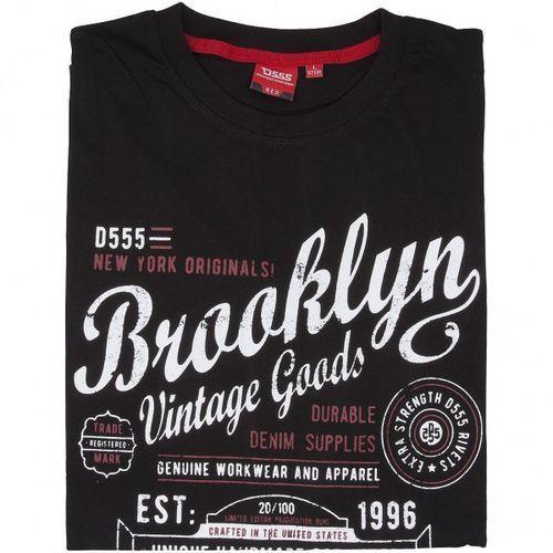 92ec90a0b35a65 T-shirt neal brooklyn - czarna marki D555 49,00 zł Koszulka D555 jest  wytwarzana z najlepszej wysokogatunkowo bawełny 100%. Koszulka ma  komfortowy i prosty ...
