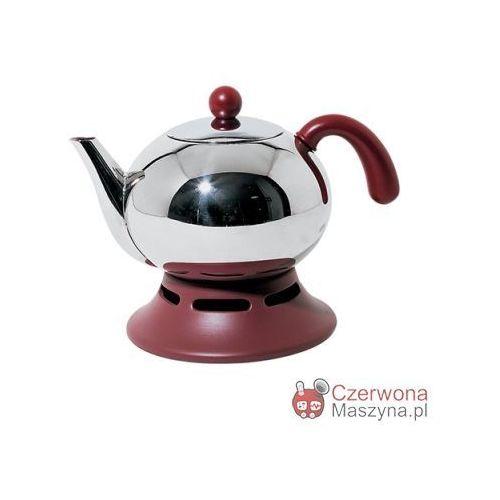 Dzbanek na herbatę z podgrzewaczem  Agata 1,4 l, Alessi z Czerwona Maszyna