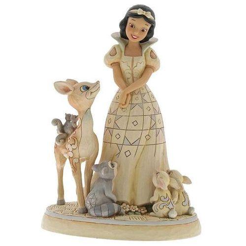 Królewna śnieżka i zwierzęta forest friends (snow white figurine) 6000943 figurka dekoracja pokój dziecięcy marki Jim shore