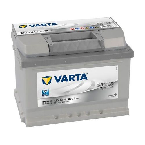 Akumulator VARTA D21 Silver Dynamic 61Ah 600A L-