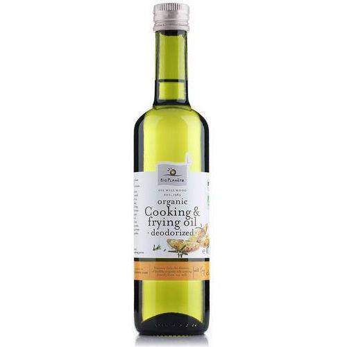 BIO PLANETE 500ml Ekologiczny dezodorowany olej słonecznikowy do gotowania i smażenia (Oleje, oliwy i octy)