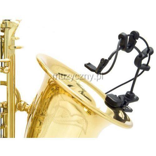 Countryman i2cs10xlr-skit mikrofon miniaturowy do instrumentów dętych, saksofon i trąbka, w zestawie uchwyt, charakterystyka kardioidalna, złącze xlr