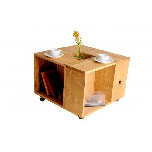 Ława stolik kawowy na kółkach dębowy classica marki Konar meble kolbudy