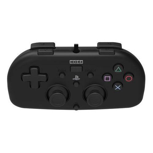 Kontroler HORI Mini Gamepad Czarny do PS4 (4961818028371)