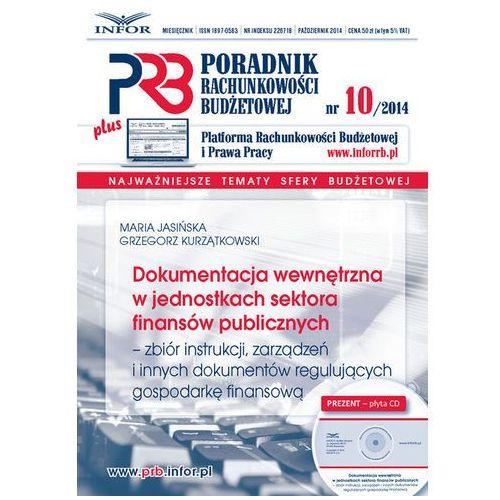 Dokumentacja wewnętrzna w jednostkach sektora finansów publicznych, Infor