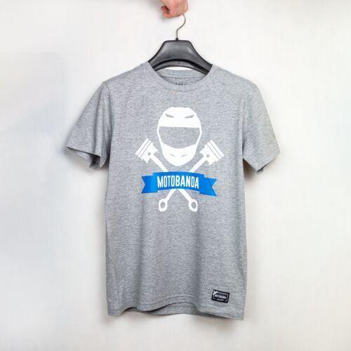 Koszulka Motobanda Classic Szary 3XL, koszulka_motobanda_classic_szara_3xl