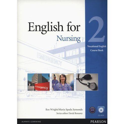 Vocational English: English for Nursing, Level 2, Coursebook (podręcznik) plus CD-ROM (80 str.)
