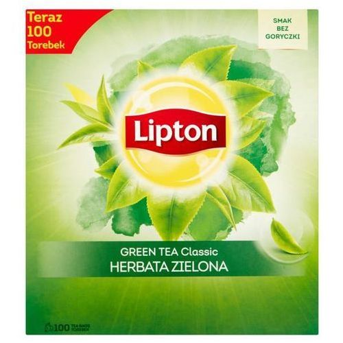Herbata eksp. LIPTON Green TEA op.100 - classic