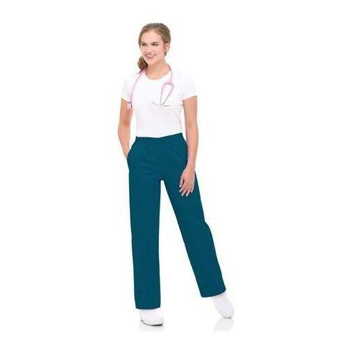Damskie spodnie medyczne Landau 8327 - CEIL BLUE XXL (odzież medyczna)