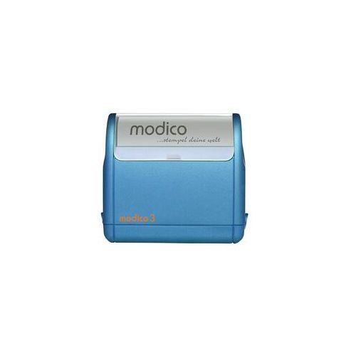Pieczątka Samotuszująca Modico 3 Niebieska Pieczątka Samotuszująca Modico 3 Niebieska