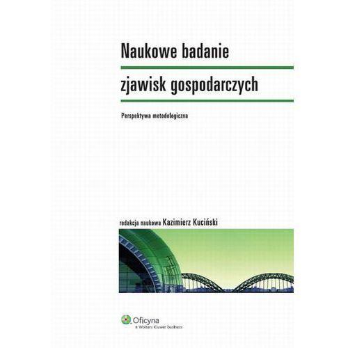 Naukowe badanie zjawisk gospodarczych. Perspektywa metodologiczna [PRZEDSPRZEDAŻ] (2014)