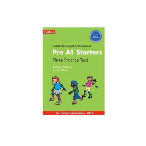 Practice Tests for Pre A1 Starters + CD (9780008274863)