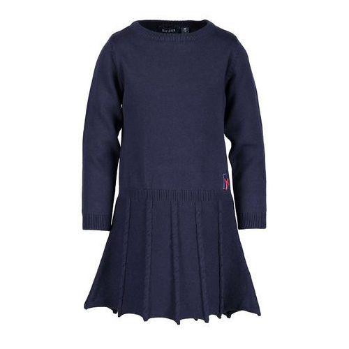 f7923865a4d54 sukienka dziecięca 92-128 cm marki Blue seven 84,90 zł Sukienka dziecięca z  serii Blue Seven. Rozkloszowany model wytwarzany z gładziutkiej dzianiny.