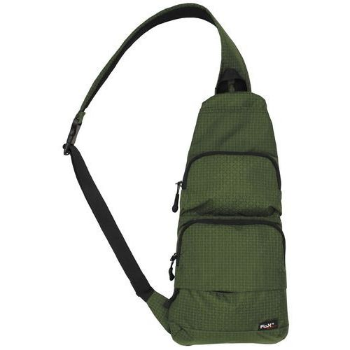 Plecak na jedno ramię MFH oliwkowy, ripstop (4044633178930)