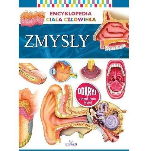 Zmysły encyklopedia ciała człowieka, oprawa broszurowa