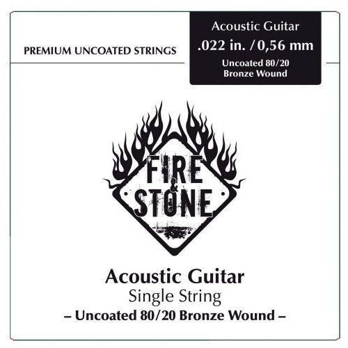 Fire&stone (666852) struna pojedyncza 80/20 bronze -.052in./1,32mm