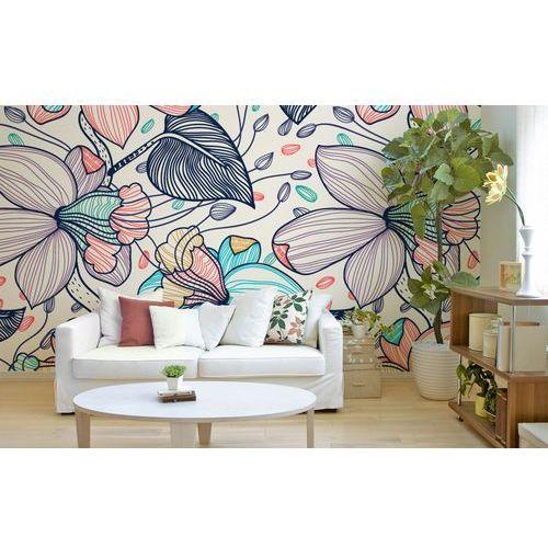 Tapety w stylu skandynawskim w kwiaty