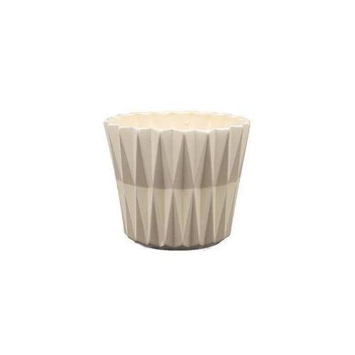 Osłonka geometric 1 j10 12 x 12 x 10.5 cm marki Eko-ceramika