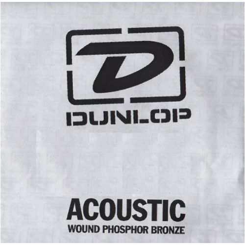 Dunlop Single Str Acoustic Phosphor 052, struna pojedyncza