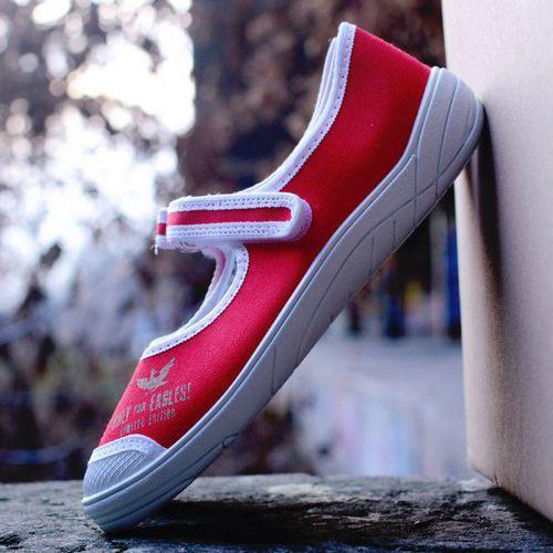 Baleriny 'Slipers.pl Limited BRCZB', /rozm. 31-36, czerwone/ ze sklepu Slippers Family