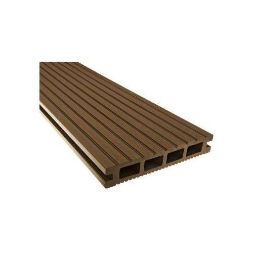 Deska kompozytowa / tarasowa POLdeck WPC140x25mm / 4,0mb / 0,56m2 Deska tarasowa, deska na taras, deska na balkon - sprawdź w POLDECK