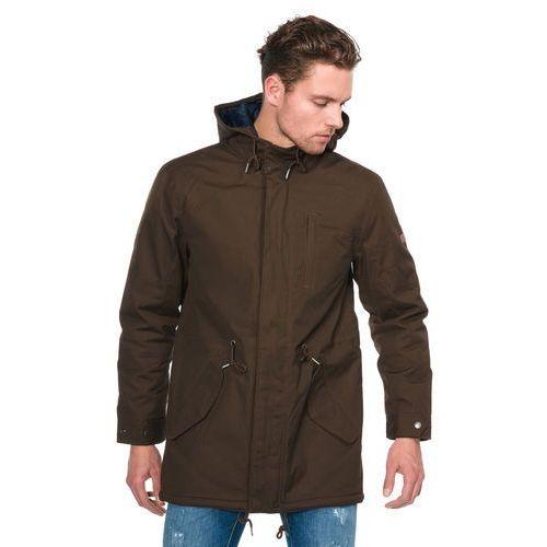 sardinia jacket brązowy l marki Pepe jeans