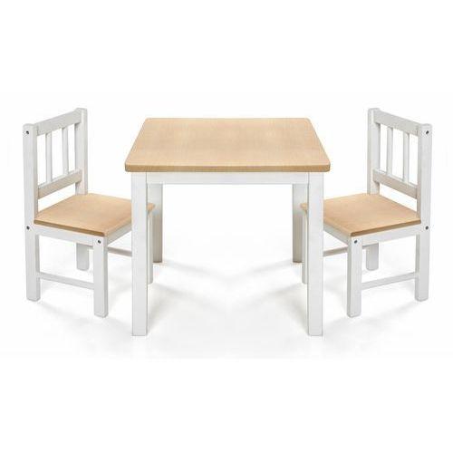 Reer Stolik 2 krzesełka dzieci drewniane eatplay (4013283690017)
