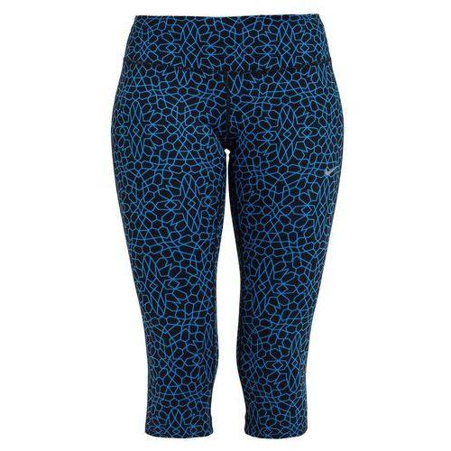 Nike Performance STARGLASS EPIC Legginsy light photo blue/reflective silver, materiał poliester  elastan, niebieski