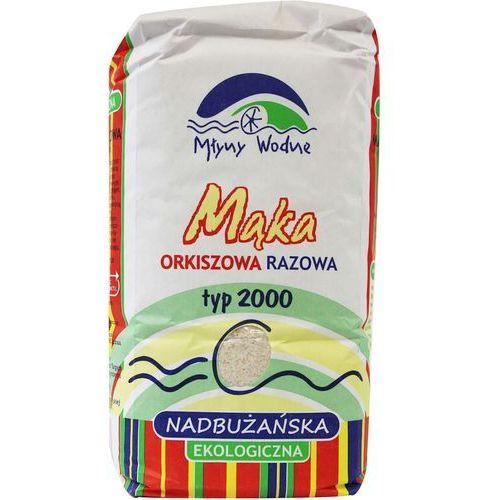 Eko mega : mąka orkiszowa razowa typ 2000 bio - 1 kg