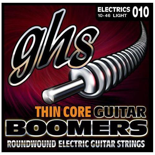 Ghs thin core guitar boomers struny do gitary elektrycznej, light,.010-.046