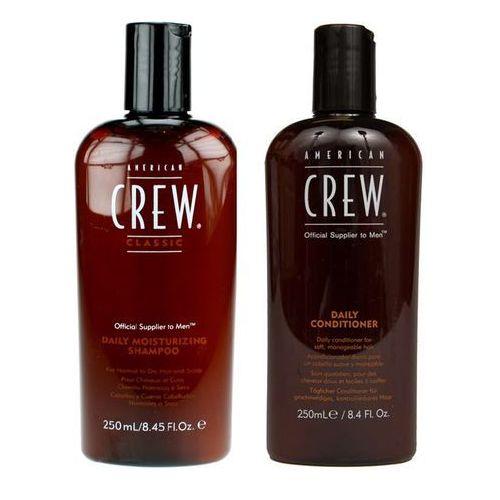 American Crew Classic Daily Moisturizing | Zestaw do włosów dla mężczyzn: szampon 250ml + odżywka 250ml