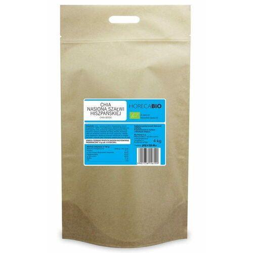 chia - nasiona szałwii hiszpańskiej bio 4 kg - horeca marki Horeca - pozostałe