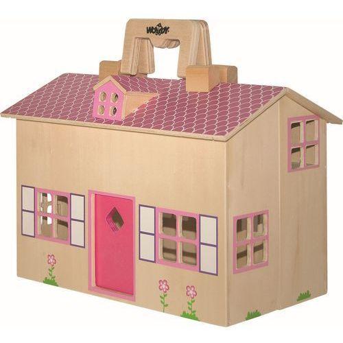Woody domek dla lalek - walizka - oferta [d598e906f19226b4]