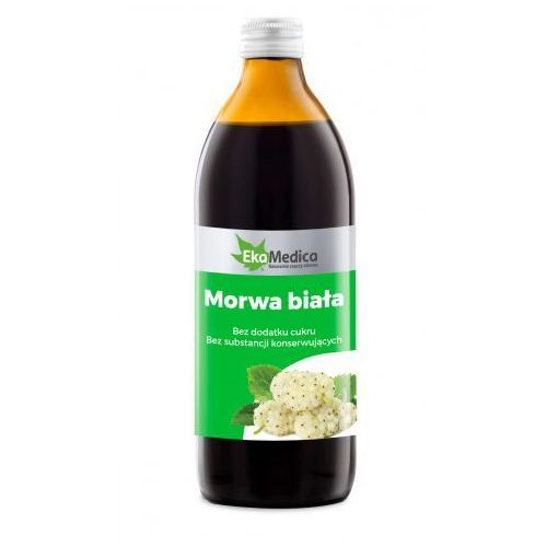 Morwa biała sok (500 ml) EkaMedica