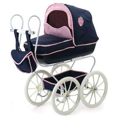 Hauck Klasyczny wózek dla lalek Navy granatowy - oferta [058aea04b17265a6]