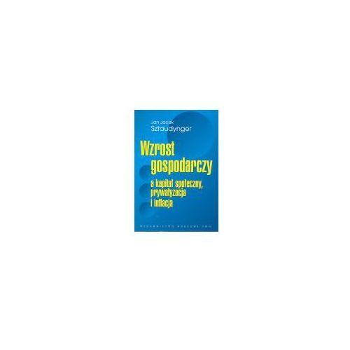 Wzrost gospodarczy a kapitał społeczny, prywatyzacja i inflacja, oprawa miękka