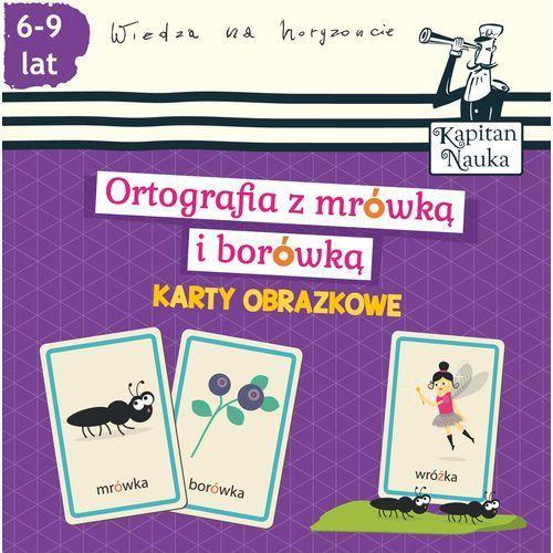 Karty obrazkowe Ortografia z mrówką i borówką (6-9 lat) - Wysyłka od 4,99 (9788377885246)