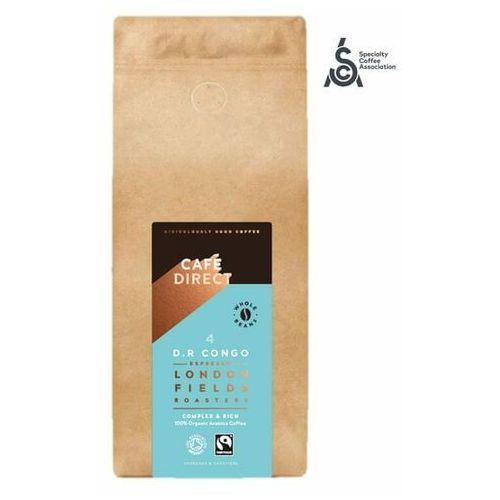 Cafédirect kawa ziarnista BIO Congo SCA 84 z nutami miodu i gorzkiej czekolady, 1 kg