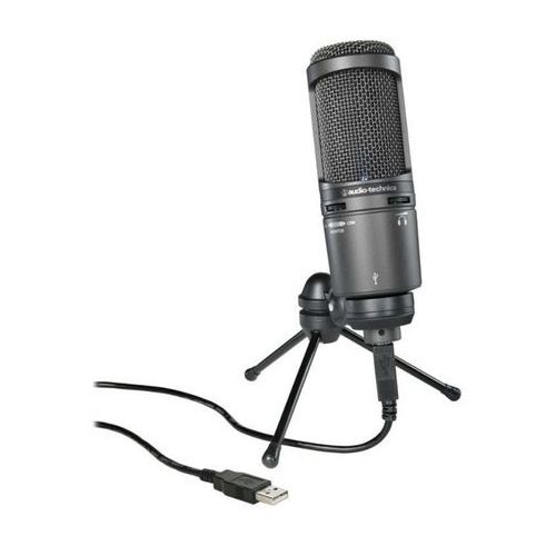 at2020 usb+ microphone marki Audio-technica