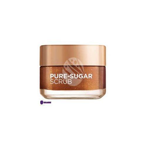 L'oreal smooth sugars clear scrub (w) rozświetlający peeling do twarzy 50ml
