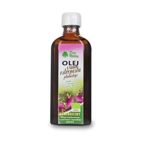 Dary natury - inne bio Olej z nasion ostropestu plamistego virgin bio 100 ml - dary natury (5902581616067)