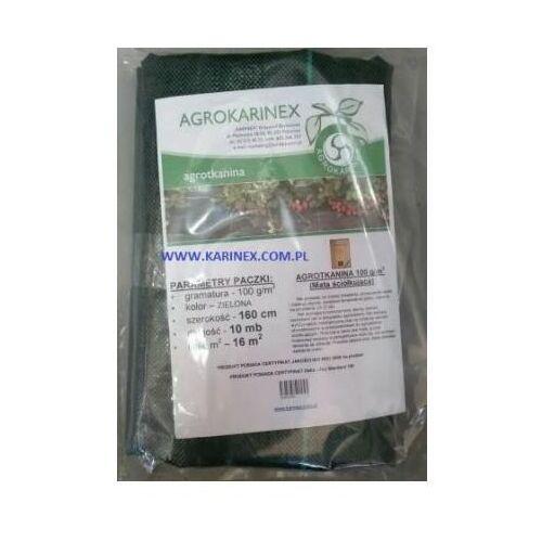 Agrotkanina zielona 100 g/m2, 2,0 x 10 mb. paczka marki Agrokarinex