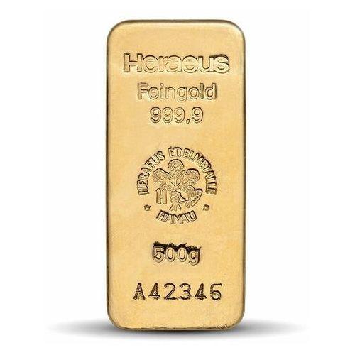 500 g Sztabka złota - 15 dni