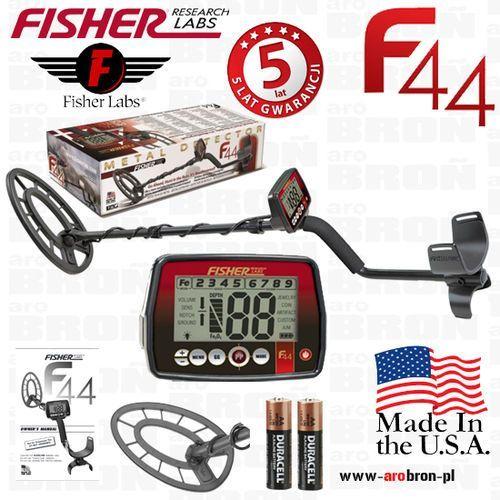 Fisher research labs Wykrywacz metali fisher f44 cewka 11