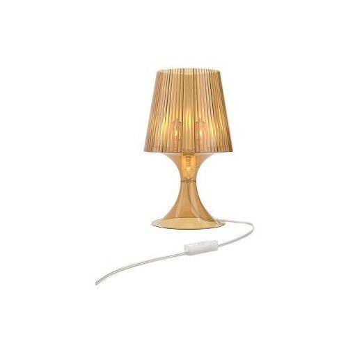 Lampka na biurko Smart transparentny bursztynowy