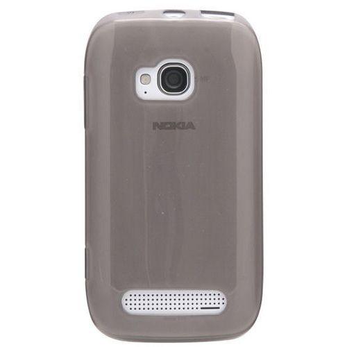 Etui CELLULAR LINE do Nokia Lumia 710 Błyszcząca Guma Czarny (8018080155772)