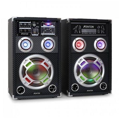 ka-08 zestaw aktywnych głośników pa karaoke,usb,sd, marki Skytec