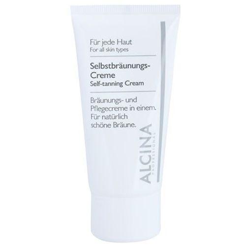 Alcina For All Skin Types samoopalający krem do twarzy (Bronzing and Nourishing Cream) 50 ml (4008666342386)